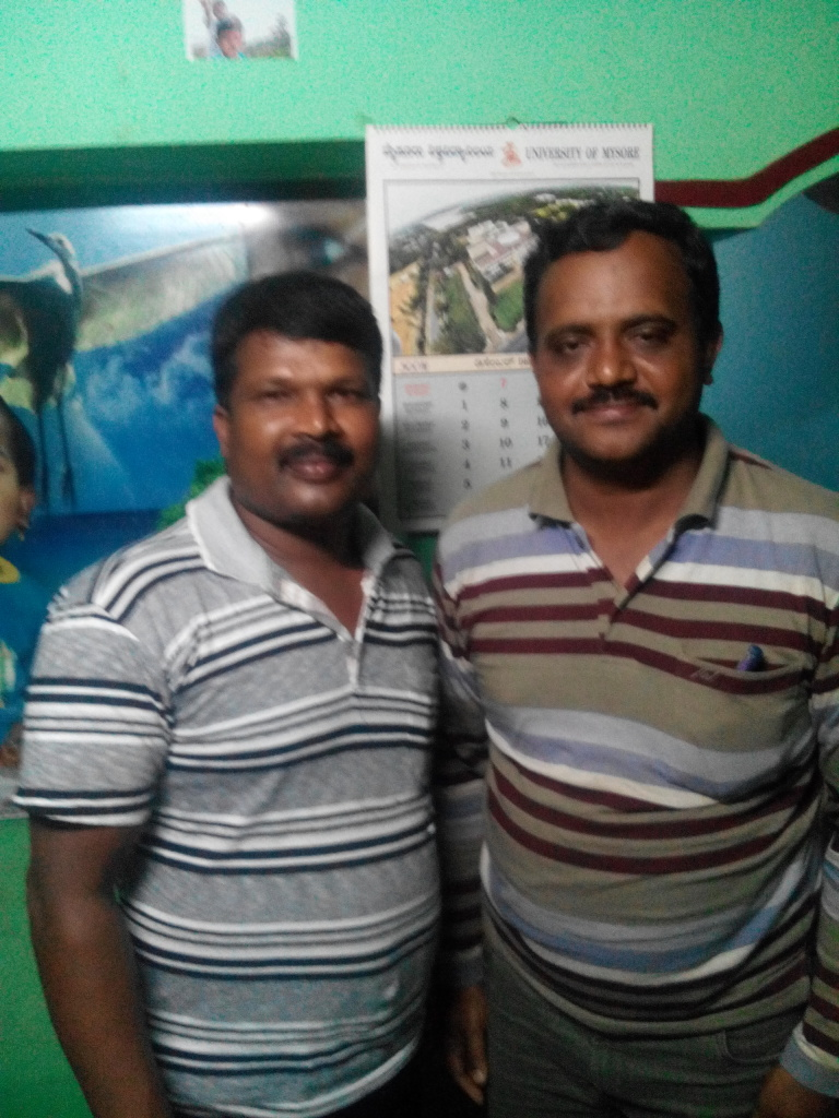 We met Mr.Srinivas murthy of T.Narasipura,Mysore district.